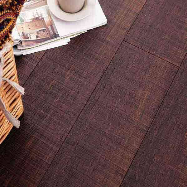Woven wideplank solid with click system L06