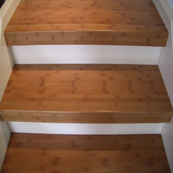 Solid Bamboo Stair Treads