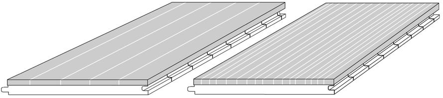CAD drawing 2-layer bamboo-flooring