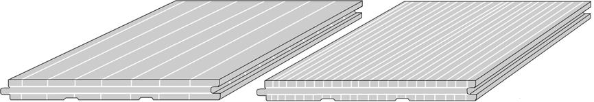 CAD drawing solid-bamboo-floorboard with tongue and groove