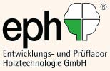 03-Logo eph, development and testing laboratory for wood technology