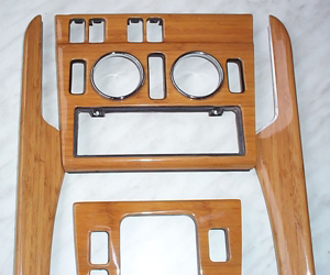production of bamboo automotive interior